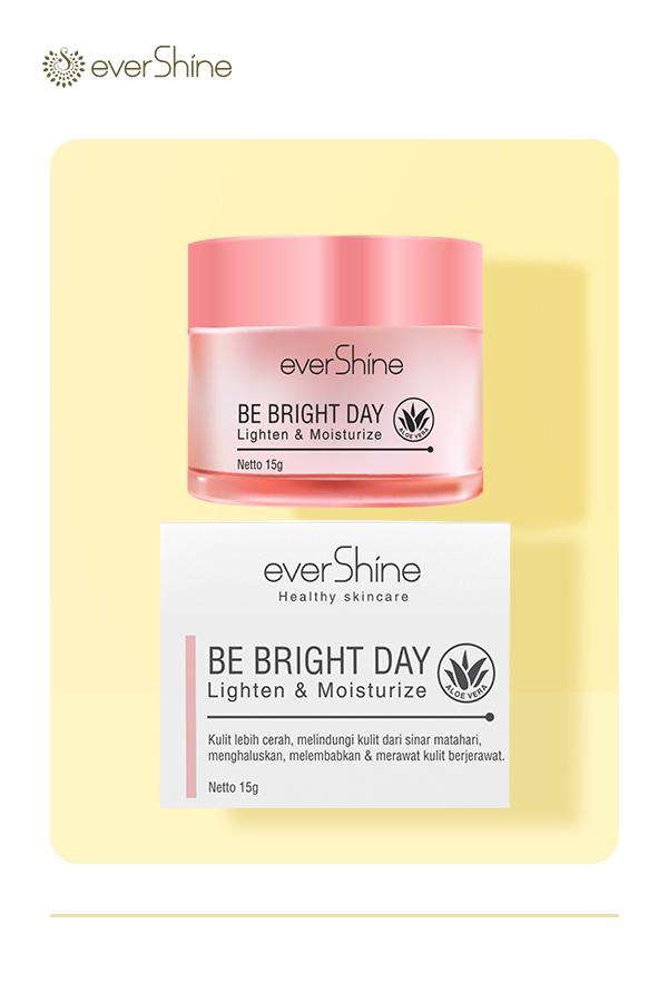 evershine moringa be bright day cream