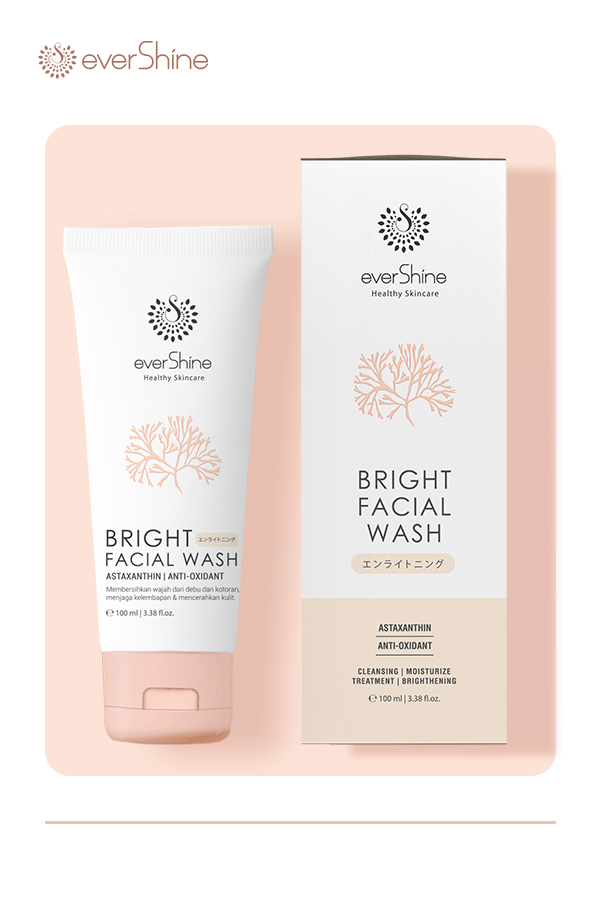 Evershine Bright Facial Wash Produk