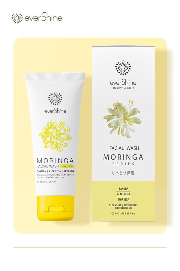 Evershine Moringa Facial Wash