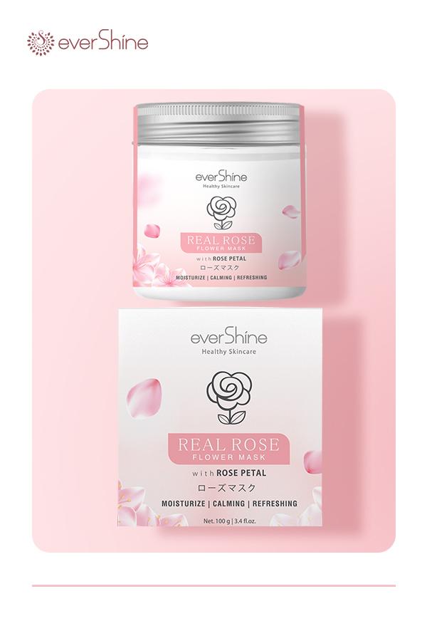 Evershine Real Rose Face Mask