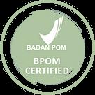 sertifikasi bpom logo icon