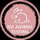 no animal testing icon logo