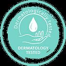 tes dermatologi kulit icon logo